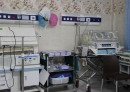بخش نوزادان بیمارستان مریم