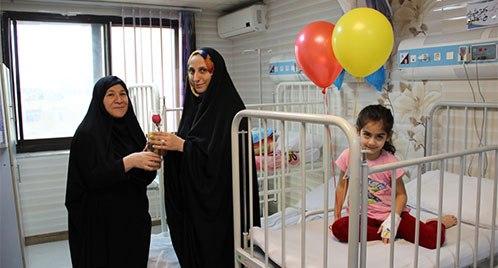 روز مادر در بیمارستان